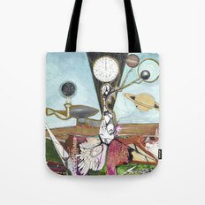 Exploration: Space Age Tote Bag