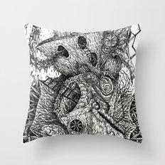 Beyond The Deepwoods Throw Pillow