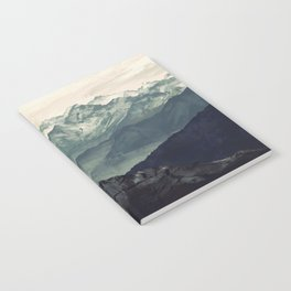 Mountain Fog Notebook