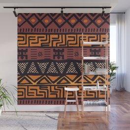Tribal ethnic geometric pattern 021 Wall Mural