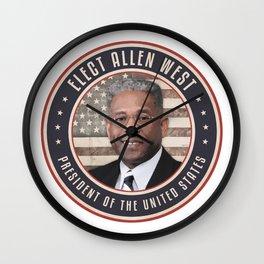Elect Allen West Wall Clock