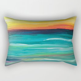 Cancun inspired Rectangular Pillow