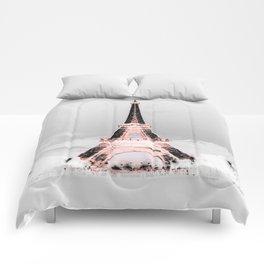 pariS Black & White + Pink copyright 2sweet4wordsDesigns Comforters