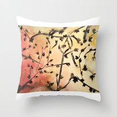 Look Up Nature Abstract 1 Throw Pillow