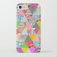 sunset iPhone & iPod Cases featuring Lost in ▲ by Bianca Green