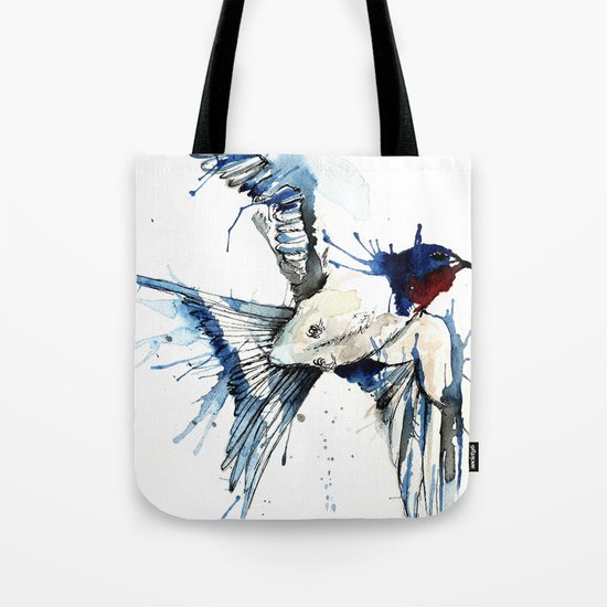 My Swallow Tote Bag