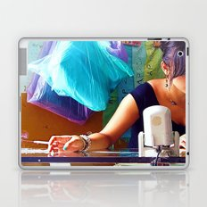 Pretty Girl, Ugly Habit Laptop & iPad Skin