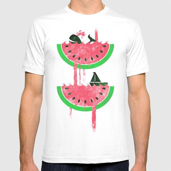 Watermelon falls Final T-shirt