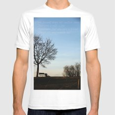 Chairs for Two Mens Fitted Tee White MEDIUM
