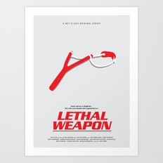 Lethal Weapon Art Print