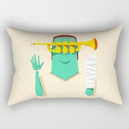 Trumpeter Broken Arm Rectangular Pillow