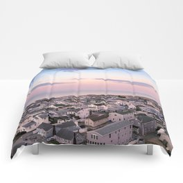 Easter Sunset Comforters