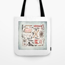 Collection of Ex Files Tote Bag