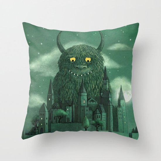 Age of the Giants  Throw Pillow