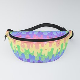 Rainbow Slime Fanny Pack