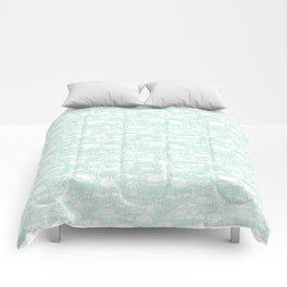 Delightful Domes - Mint Comforters
