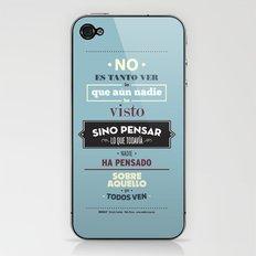 No es Tanto ver iPhone & iPod Skin