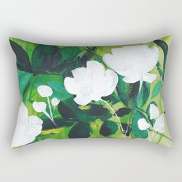 Jungle Abstract Rectangular Pillow