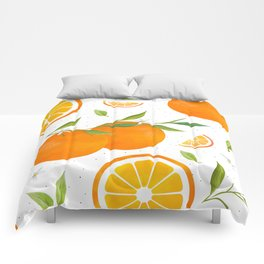 White Clementine Comforters