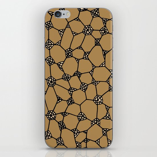 Yzor pattern 006-2 kitai beige iPhone & iPod Skin