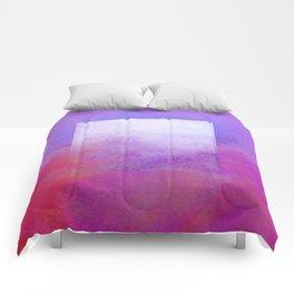 Square Composition VI Comforters