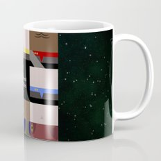 DS9 - Far Beyond the Stars - square - Minimalist Star Trek DS9 Deep Space Nine - Crew Mug