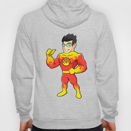 Super hero fireman cartoon Hoody