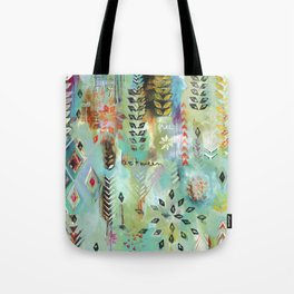 """""""Fly Free Between"""" Original Painting by Flora Bowley Tote Bag"""
