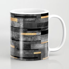 Urban Black & Gold Coffee Mug