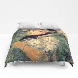 Le Printemps, Edouard Manet Comforters