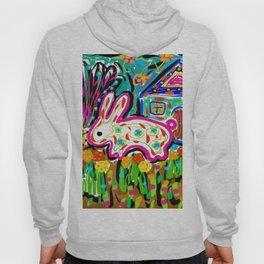 Rabbit and House Hoody