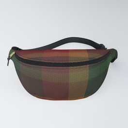 Christmas Plaid 11 Fanny Pack