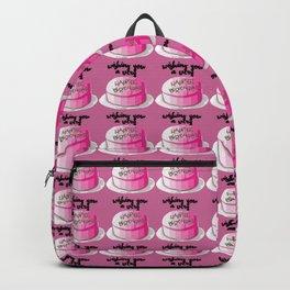 Happee birthdae harry cake movie Backpack