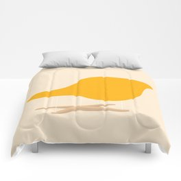 Yellow La Chaise Chair by Charles & Ray Eames Comforters