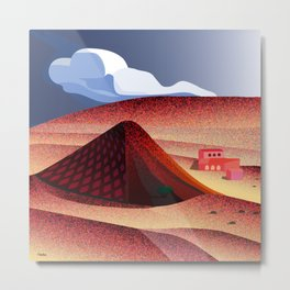 Mojave Valley Metal Print