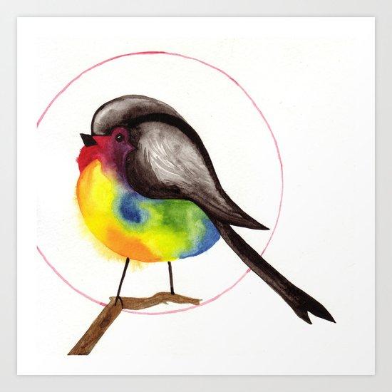 PaintyBird Art Print