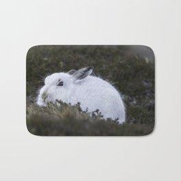 Close to wild mountain rabbit Bath Mat