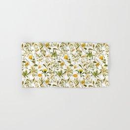 Vintage & Shabby Chic - Yellow Wildflowers Hand & Bath Towel