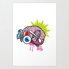 BRAIN-D! Art Print