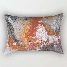 Night Fire Rectangular Pillow