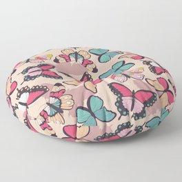 Butterfly pattern 003 Floor Pillow