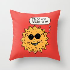 Hot Sun Throw Pillow