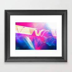 HI LIGHT III Framed Art Print
