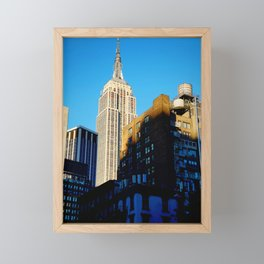 Empire State of Mind Framed Mini Art Print