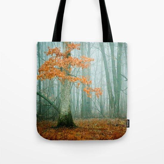 Autumn Woods Tote Bag