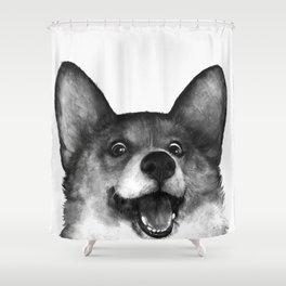 Corgi Shower Curtain
