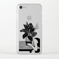 Tragedy makes you grow up Clear iPhone Case