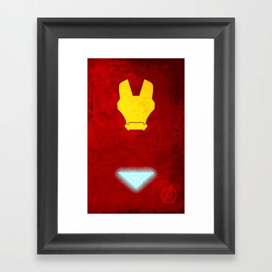 Iron Man: Avengers Movie Variant Framed Art Print