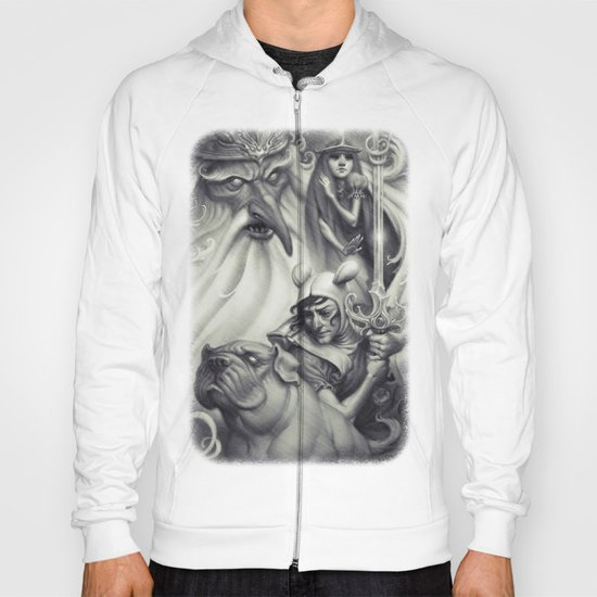 Another Castle :: Duotone Print Hoody
