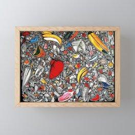 Smell Framed Mini Art Print